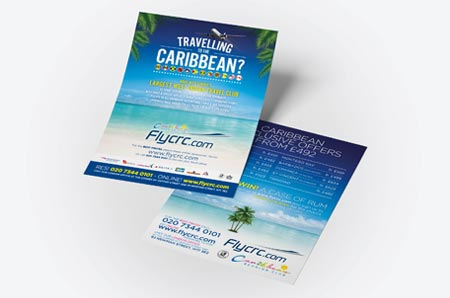flyer-leaflet printing at london print central